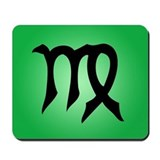 Virgo Symbol Mousepad