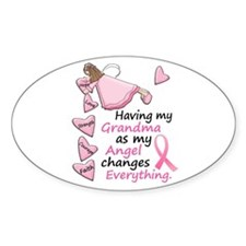My Angel 1 (Grandma BC) Oval Decal