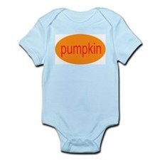 pumpkin funny silly baby onesie Infant Creeper