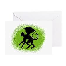 Flying Monkey Greeting Cards (Pk of 10)