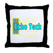 echo tech Throw Pillow