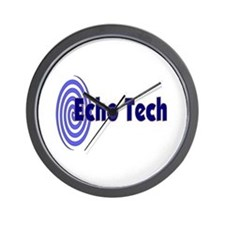 echo tech Wall Clock