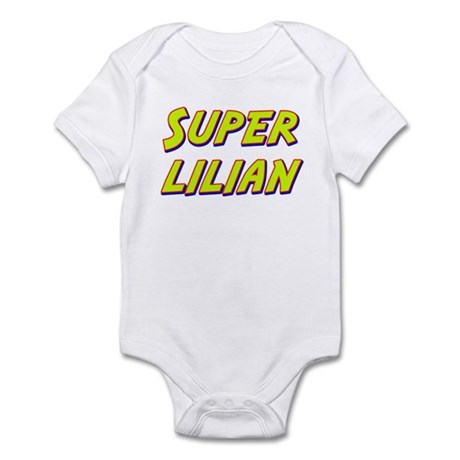 Super lilian Infant Bodysuit