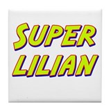 Super lilian Tile Coaster