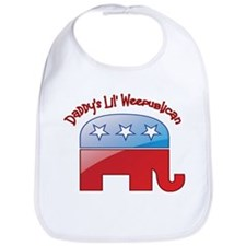 Daddy's Little Weepublican Bib