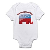 Mommy's Lil Weepublican Infant Bodysuit