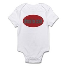 drool is cool funny baby Infant Creeper