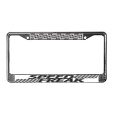 Speed Freak License Plate Frame
