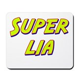 Super lia Mousepad