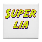 Super lia Tile Coaster
