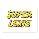 Super lexie Postcards (Package of 8)