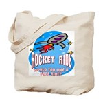 Rocket Ride Tote Bag