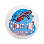 Rocket Ride Keepsake (Round)
