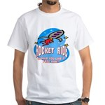 Rocket Ride White T-Shirt