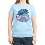 Rocket Ride Women's Pink T-Shirt