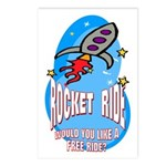 Rocket Ride Postcards (Package of 8)