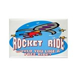 Rocket Ride Rectangle Magnet (100 pack)