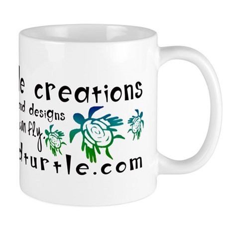 Winged Turtle Logo Mug