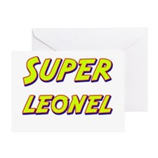Super leonel Greeting Card