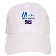 M is for Mitochondria Baseball Cap