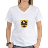 rottweil Womens V-Neck T-Shirt
