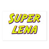 Super lena Postcards (Package of 8)