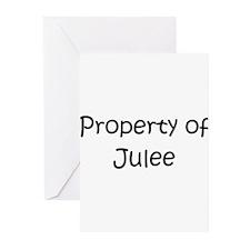 Cool Jules name Greeting Cards (Pk of 20)