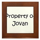 Unique Jovan Framed Tile