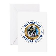 DogWatch Social Club Greeting Cards (Pk of 10)