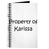 Funny Karissa Journal