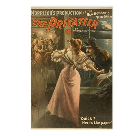 Privateer (w/ Maiden) Postcards (Package of 8)