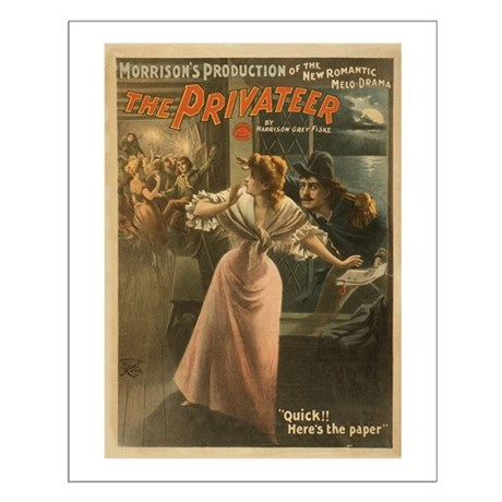 Privateer (w/ Maiden) Small Poster