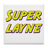 Super layne Tile Coaster