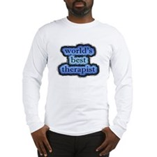 world's best therapist Long Sleeve T-Shirt