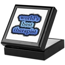 world's best therapist Keepsake Box