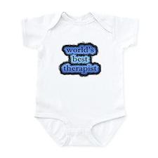 world's best therapist Infant Bodysuit
