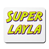 Super layla Mousepad