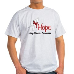 Hope Lung Cancer Light T-Shirt
