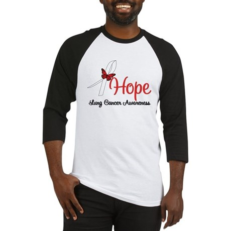 Hope Lung Cancer Baseball Jersey