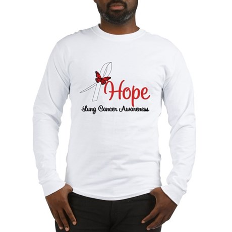 Hope Lung Cancer Long Sleeve T-Shirt