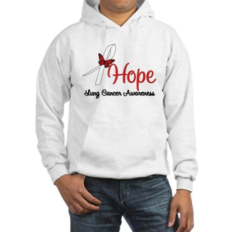 Hope Lung Cancer Hooded Sweatshirt