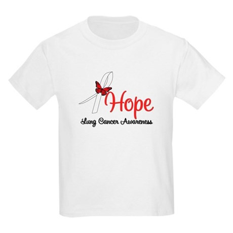 Hope Lung Cancer Kids Light T-Shirt