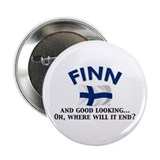 "Good Lkg Finn 2 2.25"" Button (10 pack)"