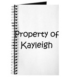 Unique Kayleigh Journal