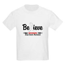 Believe - Lung Cancer T-Shirt