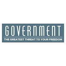 Anti Government Bumper Sticker (50 pk)