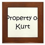 Cool Kurt Framed Tile