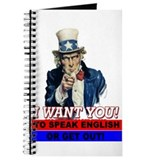 Uncle Same Wants You Journal