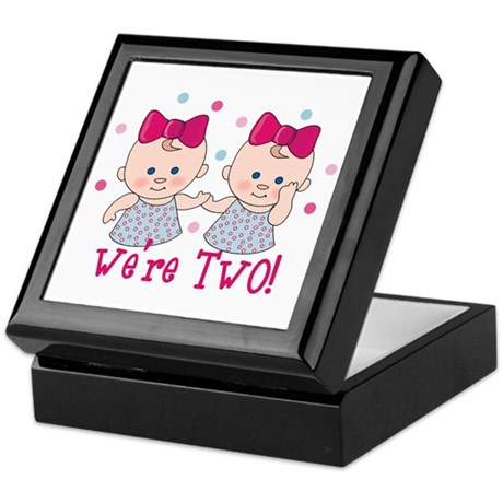We're Two Girls Keepsake Box