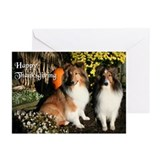 Sheltie Friends Greeting Cards (Pk of 20)